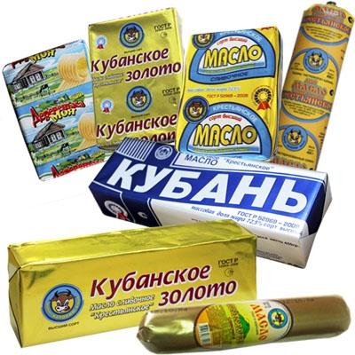 Масло-жировые продукты