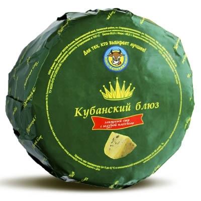 """Сыр """"Кубанский Блюз"""" с голубой плесенью"""
