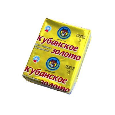 """Масло сливочное """"Кубанское золото"""" 170г"""