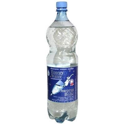 """Вода с ионами серебра """"Энергия воды"""" 1.5л газ."""